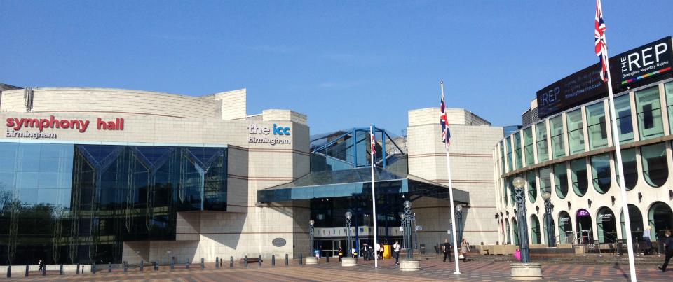 Symphony Hall, ICC and REP, Birmingham
