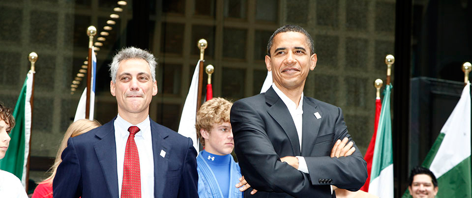 Rahm Emanual & Barack Obama