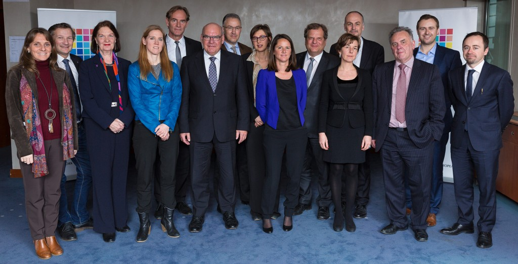 City Mayors of the Eurocities Network who signed the Declaration on Work on 26 February 2015