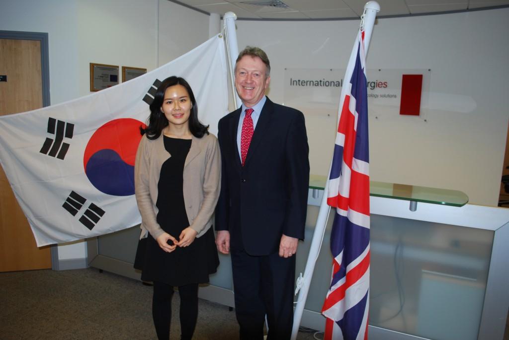 International Synergies mtg with Korea