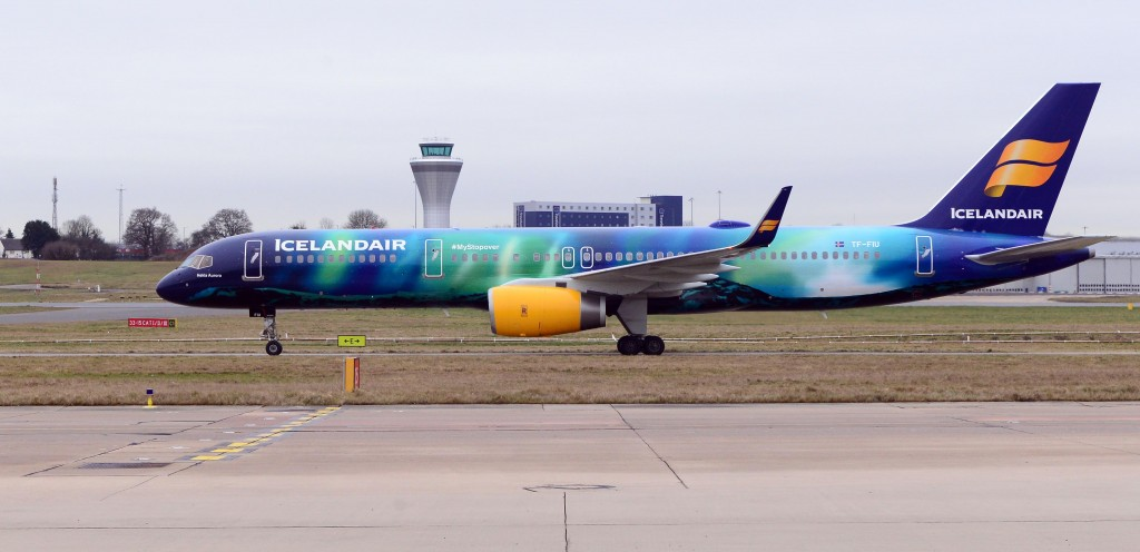 Icelandair connecting Birmingham, UK with Chicago