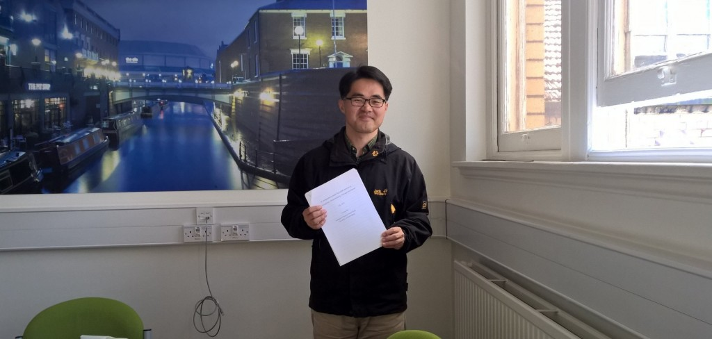 Seo Young is one of 10-15 civil servants from South Korea currently studying in Birmingham