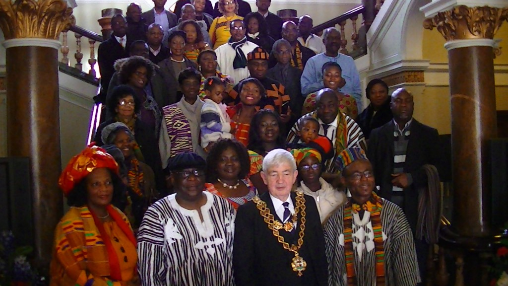 Ghana reception