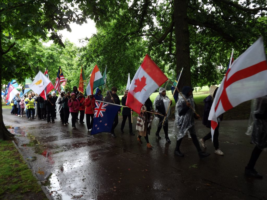 Lord Mayor's Parade at Cannon Hill Park