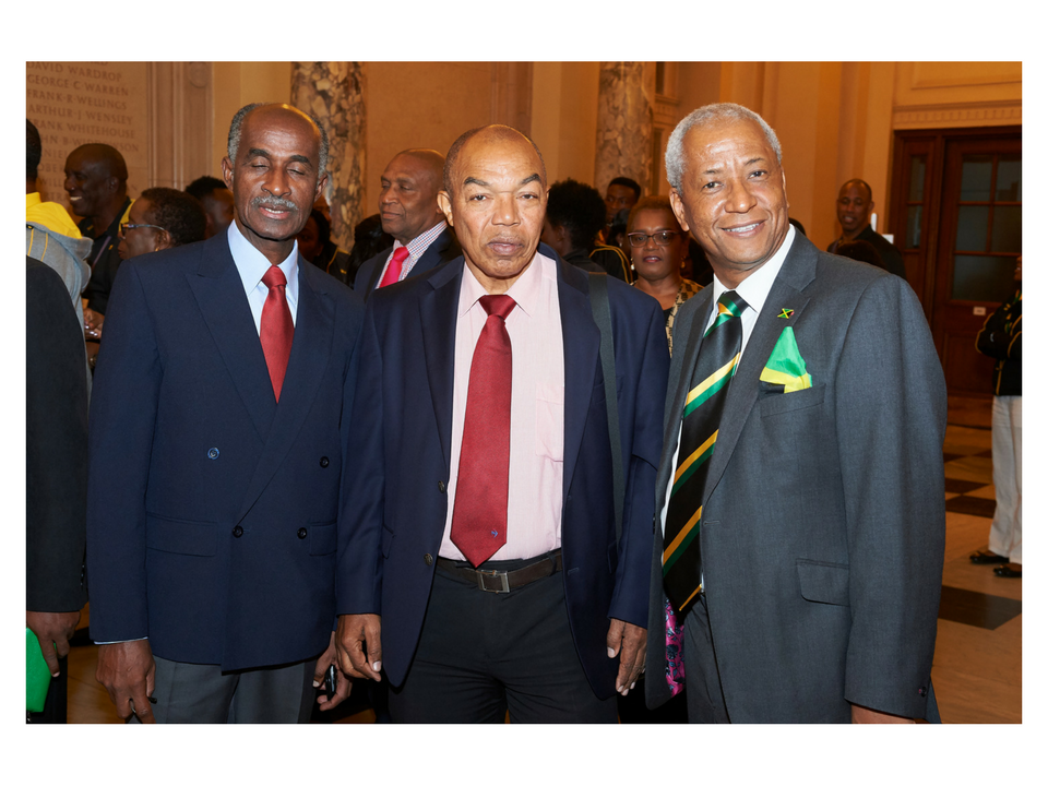 Mr Wade Lyn Hon. Consul for Jamaica and CEO of Cleone Foods (on the right) by Adrian Burrows