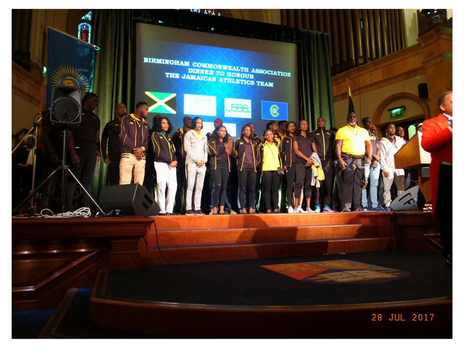 Jamaican Athletics Team by Adrian Burrows