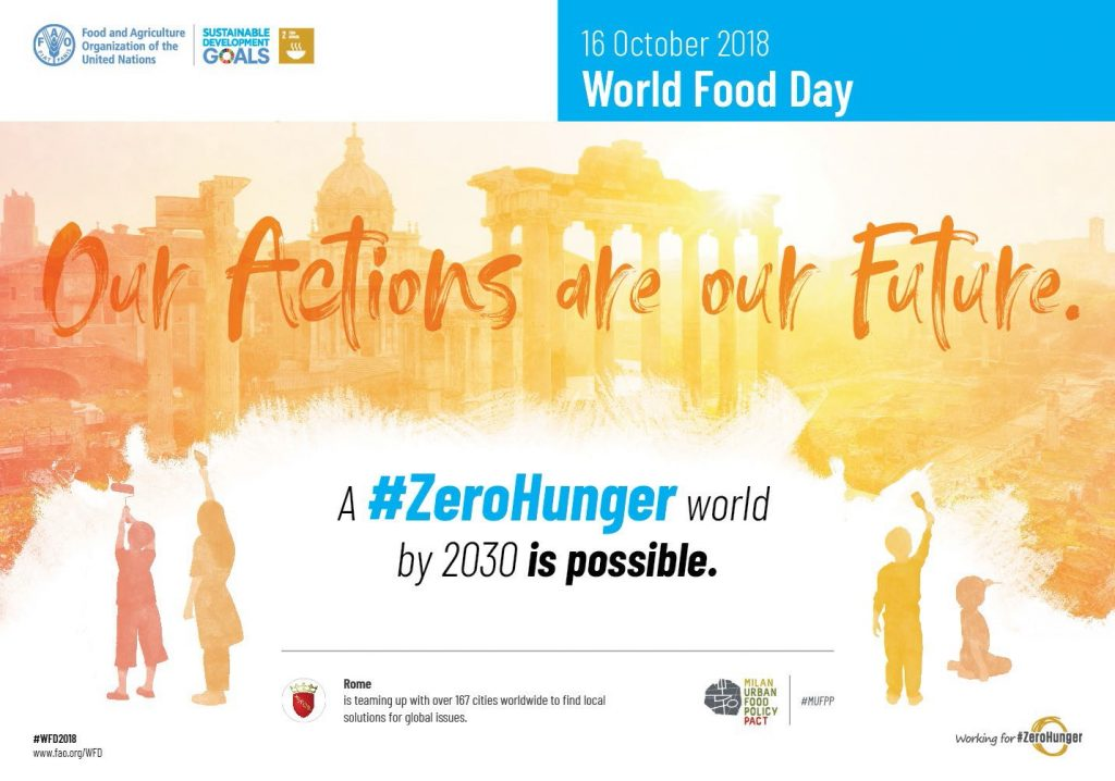 World Food Day 2018 and the Milan Urban Food Policy Pact